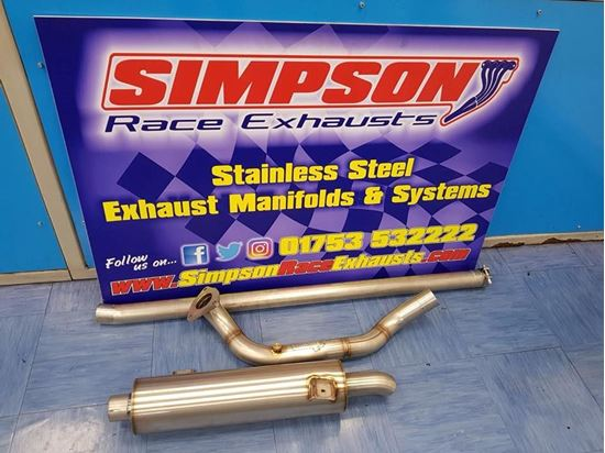 Picture of Lightning Rod Zetec Simpson Exhaust System