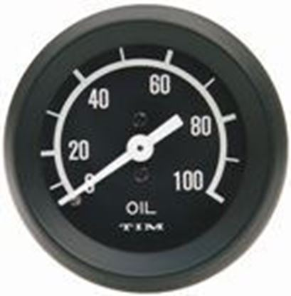 Picture of Tim Capillary Oil Pressure Gauge