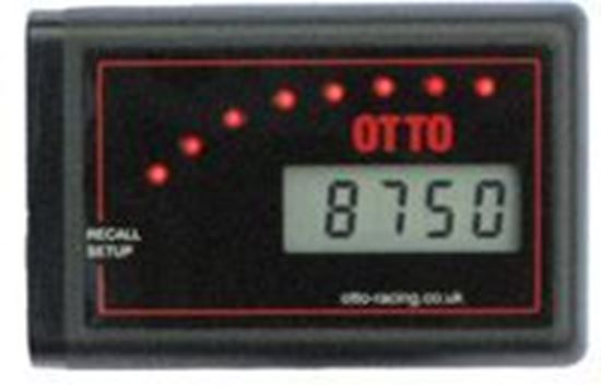 Picture of Otto Racing DT1 Digital Recall Tacho with Shift Lights