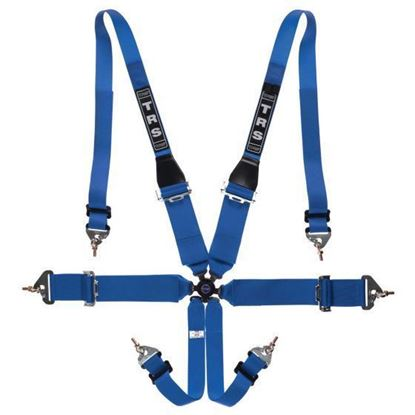 Picture of HANS only - TRS Magnum 75mm 6 Point Harness - FIA Approved